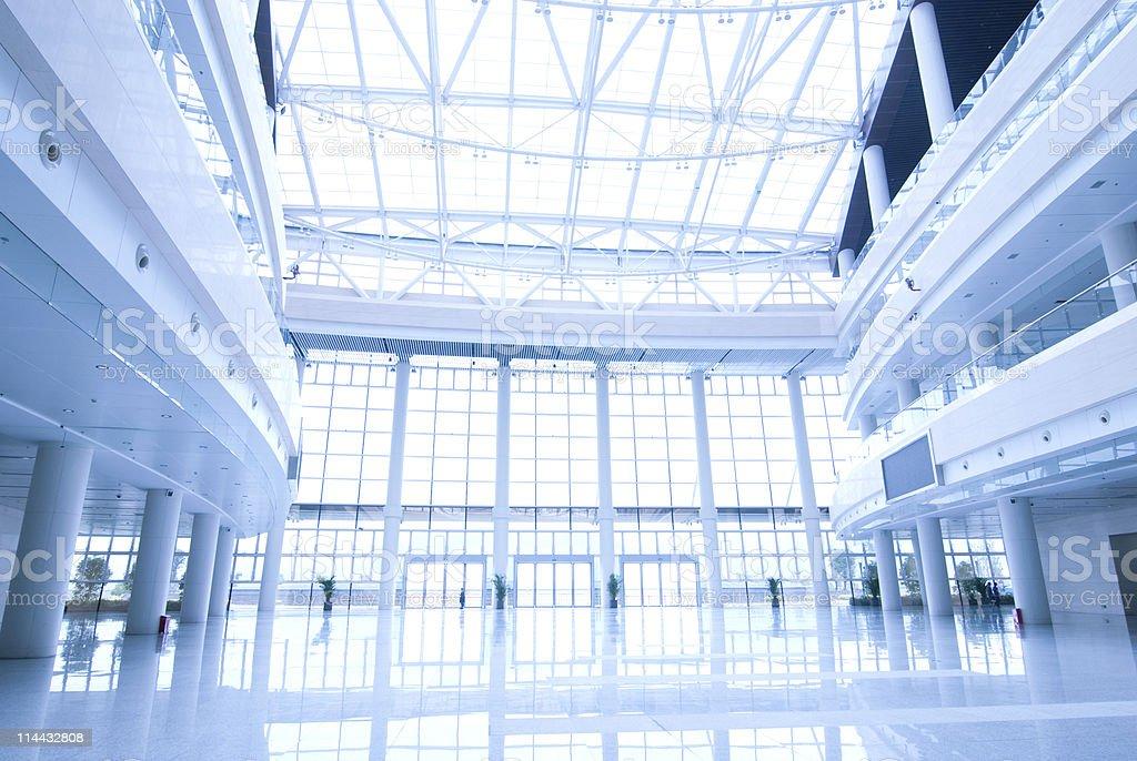 modern building  hall royalty-free stock photo