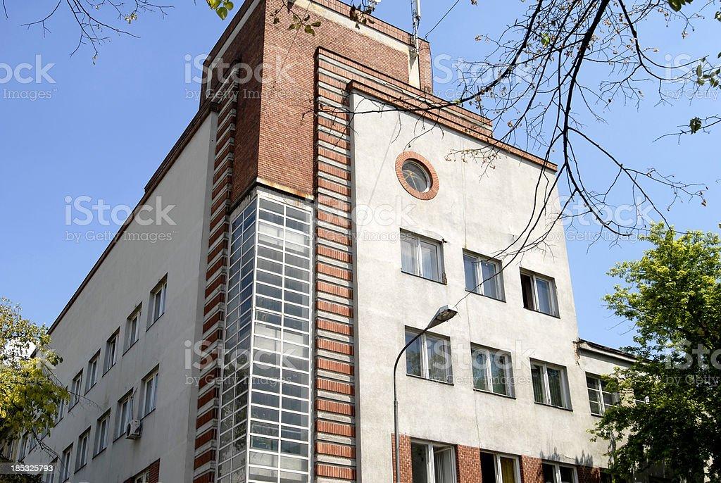 modern building in Novi Sad royalty-free stock photo