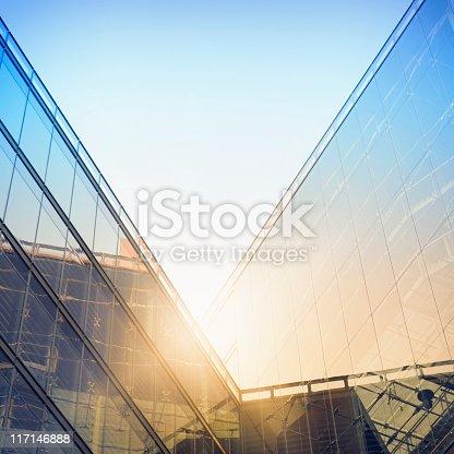 istock Modern building in sunlight 117146888