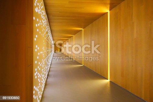 istock Modern building interiors 691930650