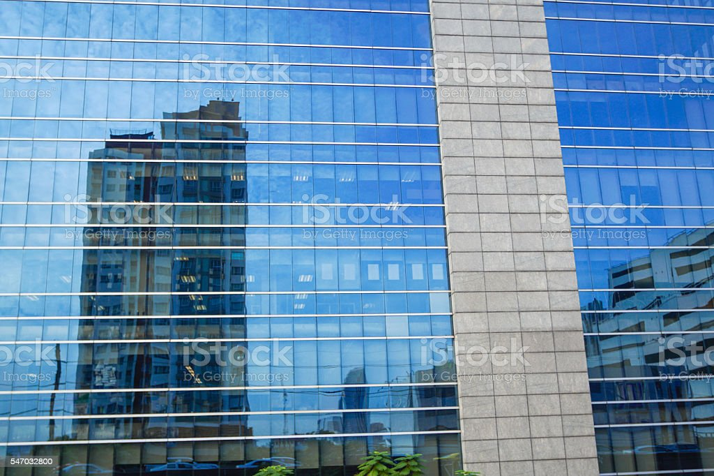 Modern Building Mirror Glass Stock Photo - Download Image Now - iStock
