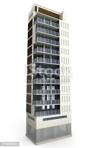 585292106 istock photo Modern Building 518464024
