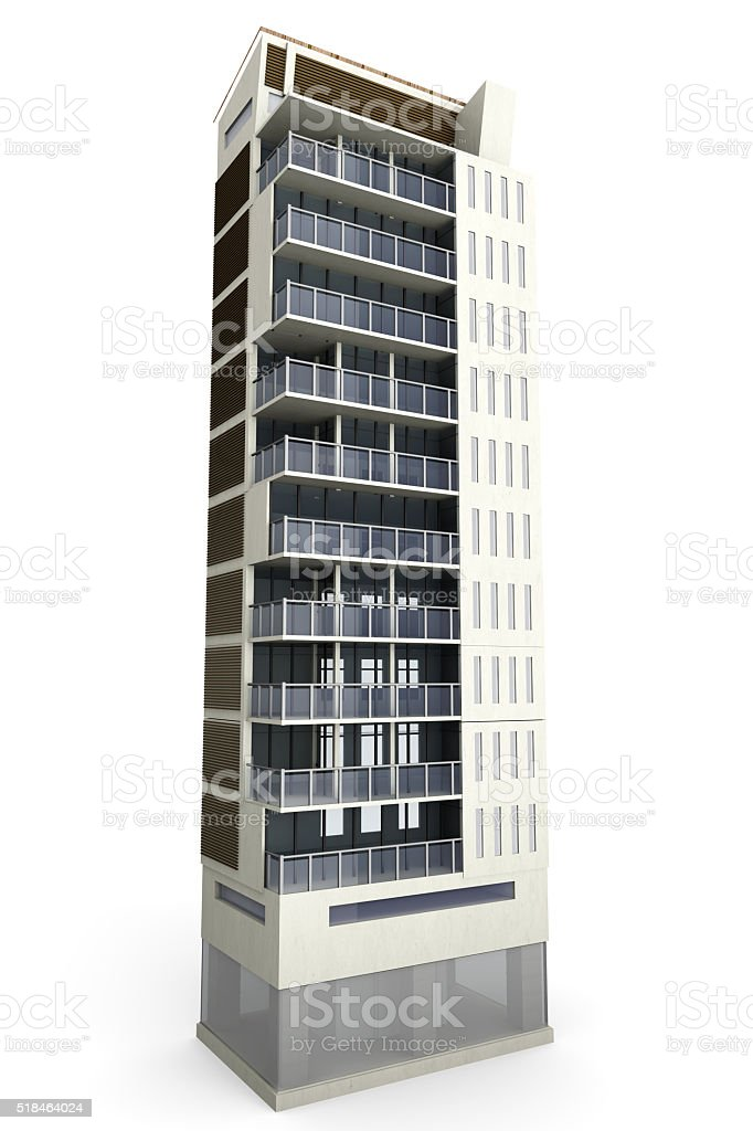 Modern Building stock photo