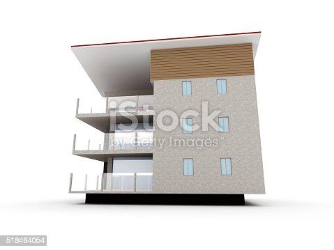 585292106 istock photo Modern building 518464054