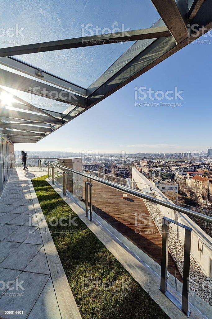Moderno Edificio En La Terraza Foto De Stock Y Más Banco De