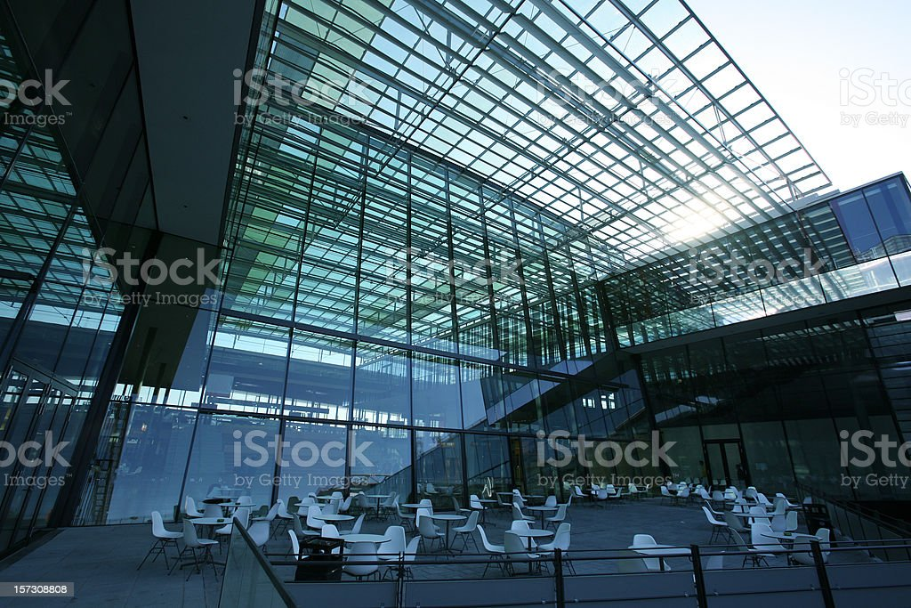 Modern building view royalty-free stock photo