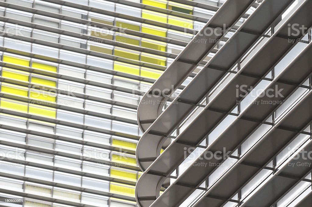 Modern Building Windows royalty-free stock photo