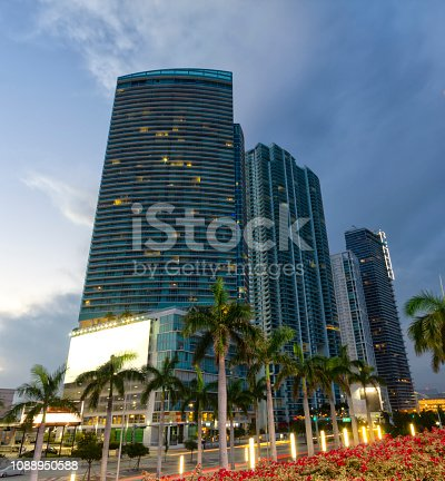 Photo of modern buildings n Miami, Florida