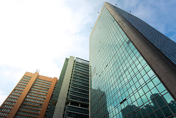 Modern Buildings in Sao Paulo City – Foto