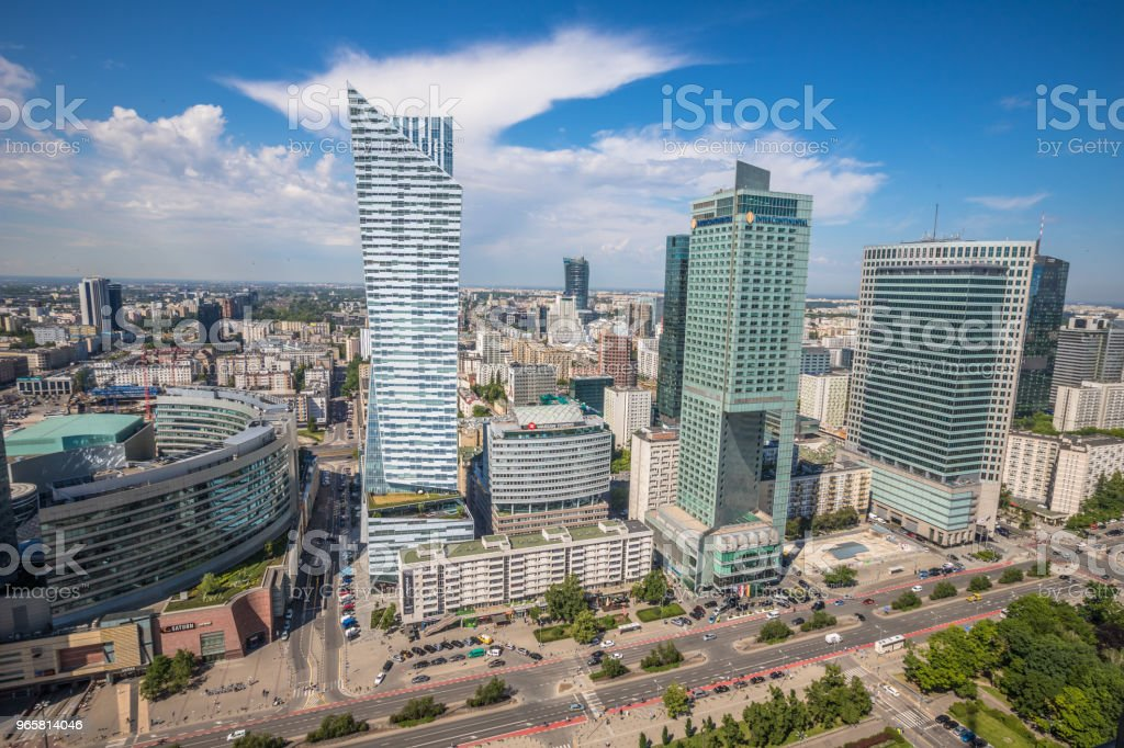 Modern buildings in Warsaw - Royalty-free Architecture Stock Photo