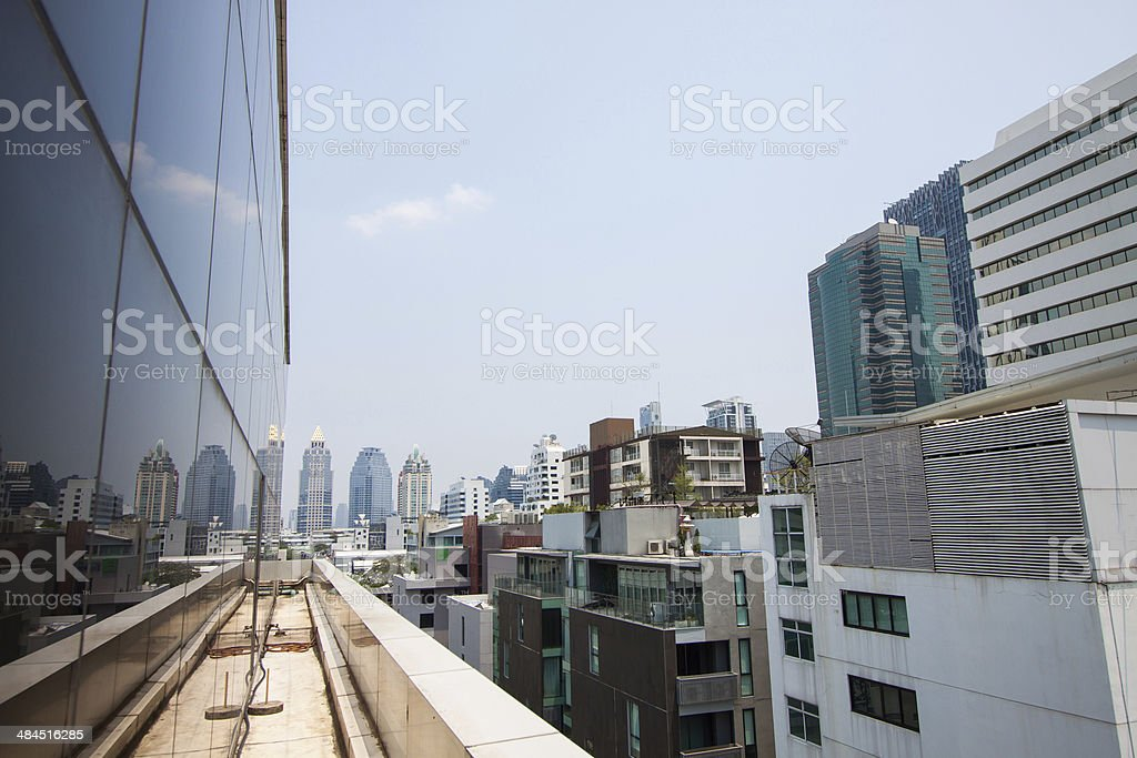 Modern buildings of the city skyscrapers, tall building stock photo