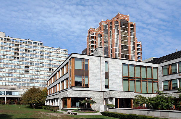 Bâtiments modernes, bureau campus - Photo