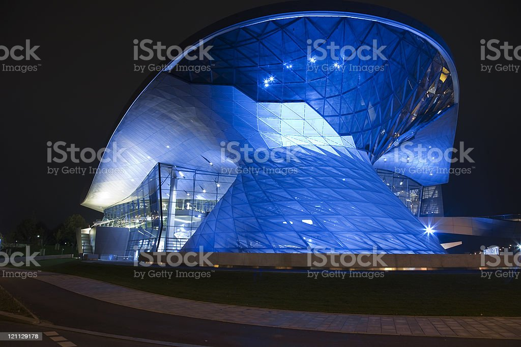 modern business architecture stock photo