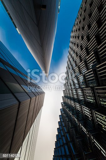 istock Modern Business buildings in London's Financial District 531140175