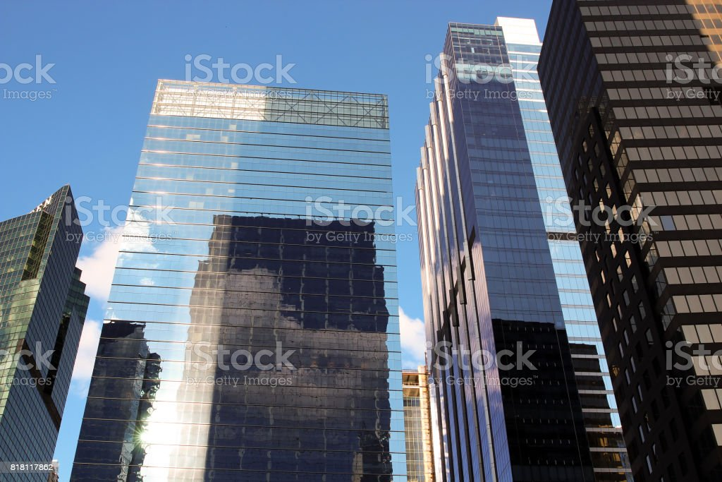 Modern business buildings /  Skyscrapers stock photo