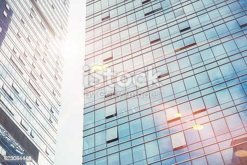 istock modern business center in China 623064448