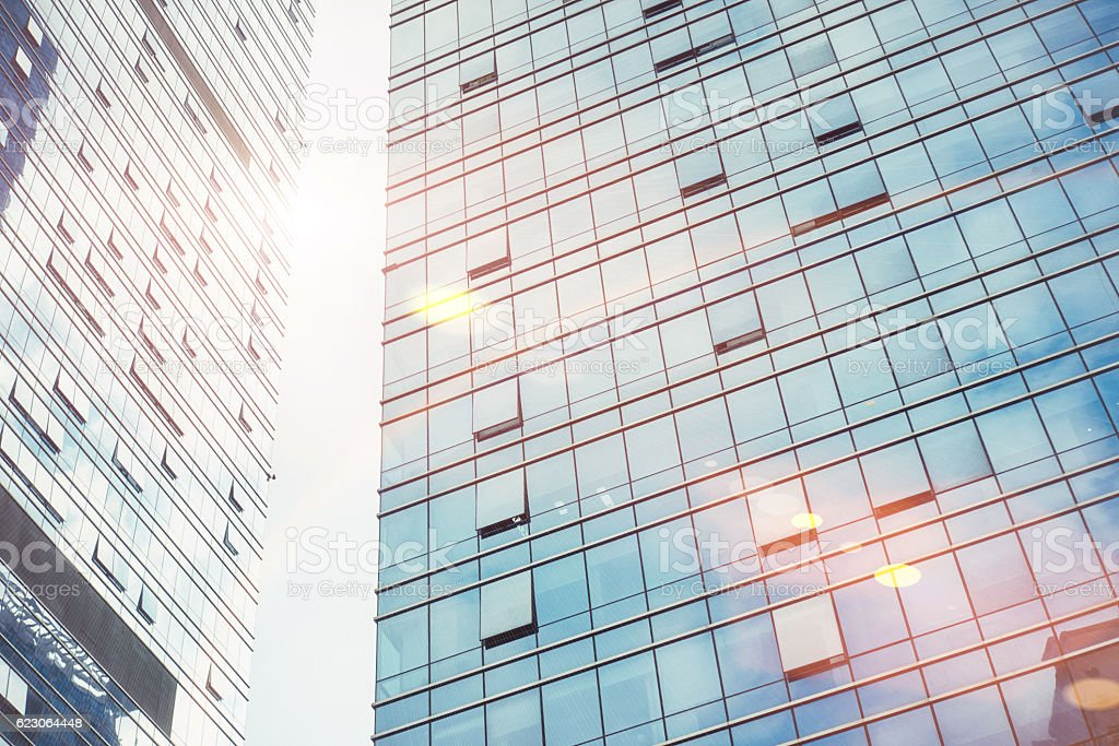 modern business center in China stock photo