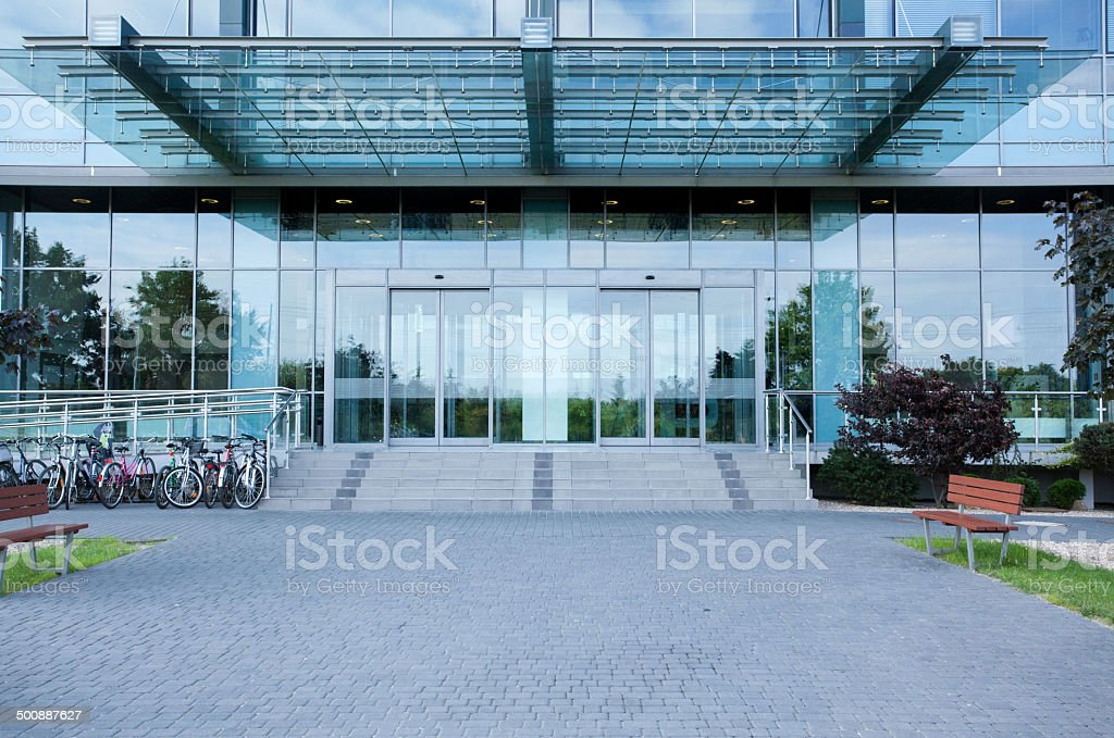 Modern business centre stock photo