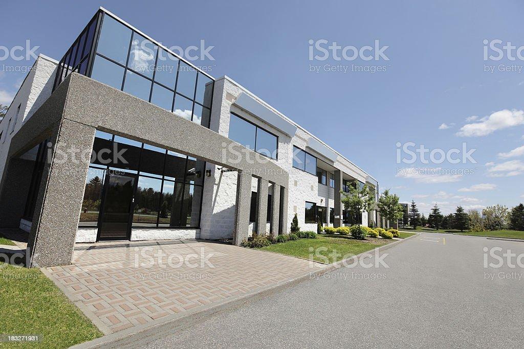 Modern Business Entrance stock photo