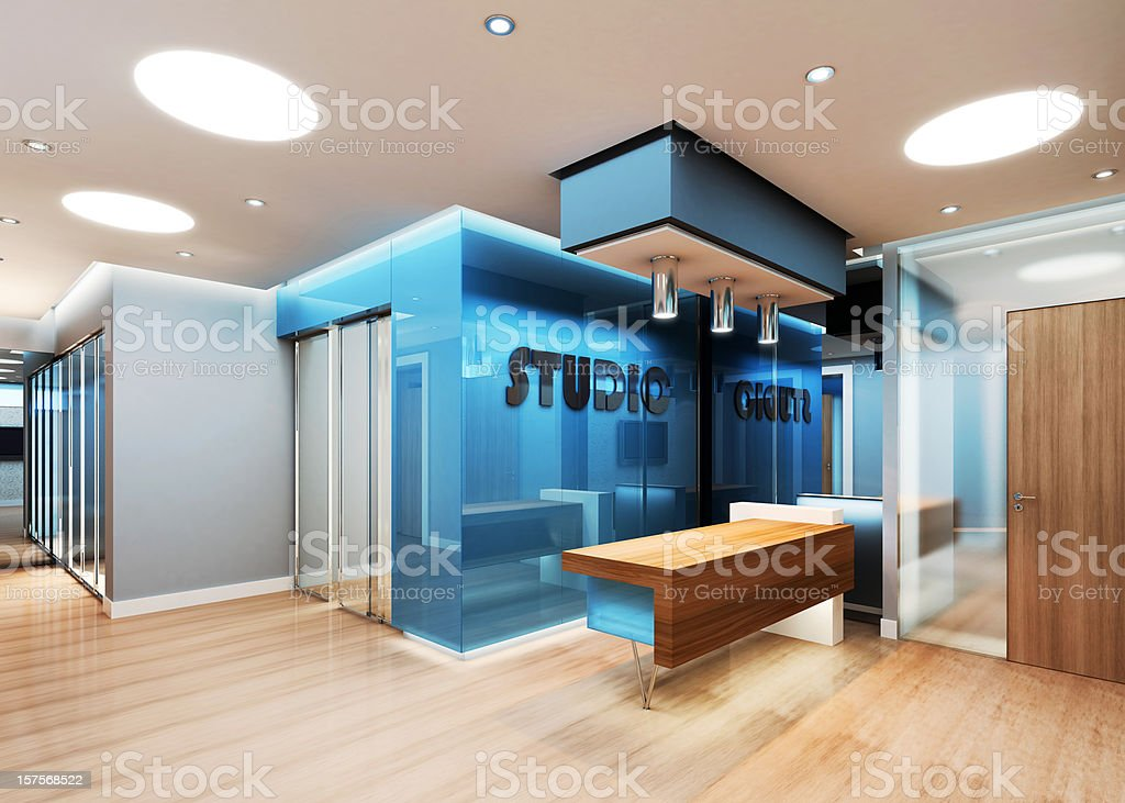 Modern Business Interior royalty-free stock photo