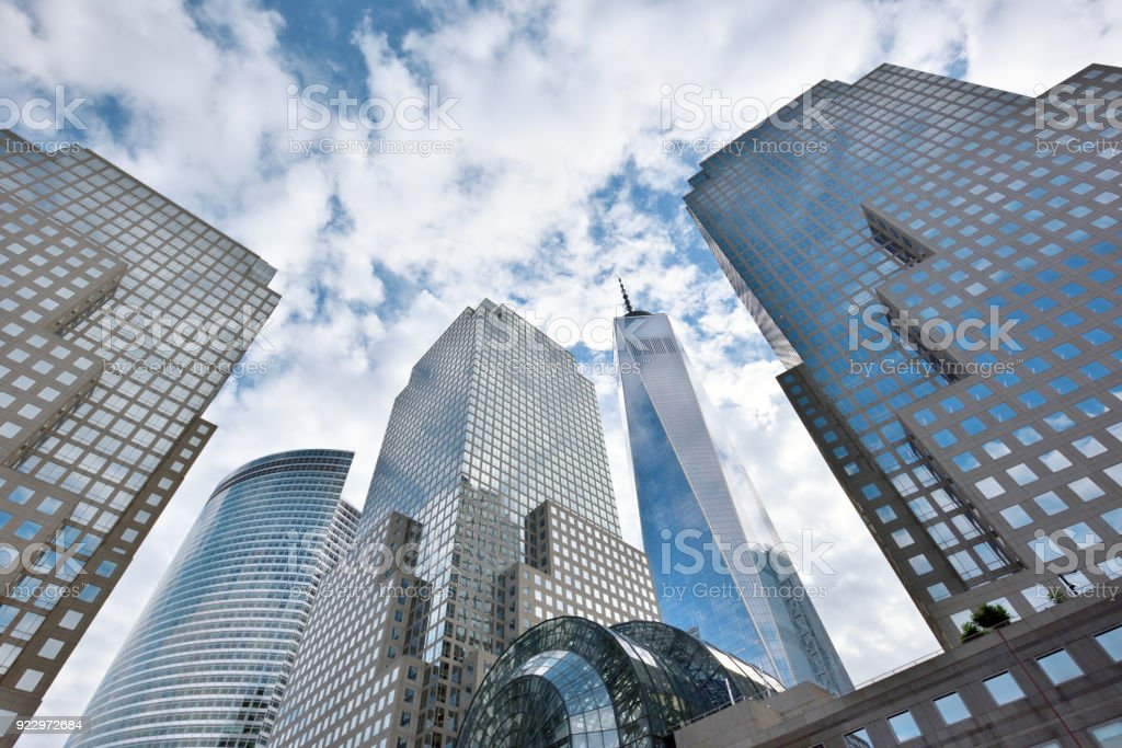 Modern Business Office Buildings stock photo