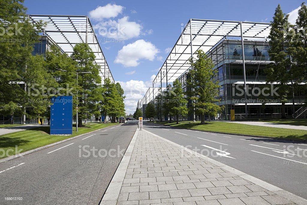 Modern Business Park (XXXL) royalty-free stock photo