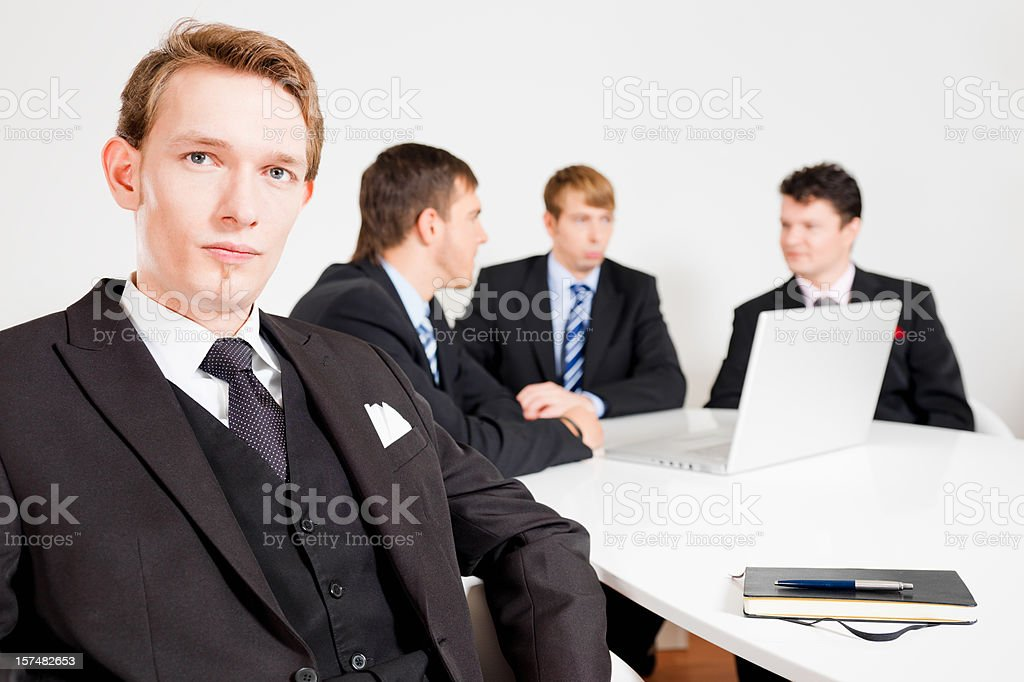 Modern Business People royalty-free stock photo