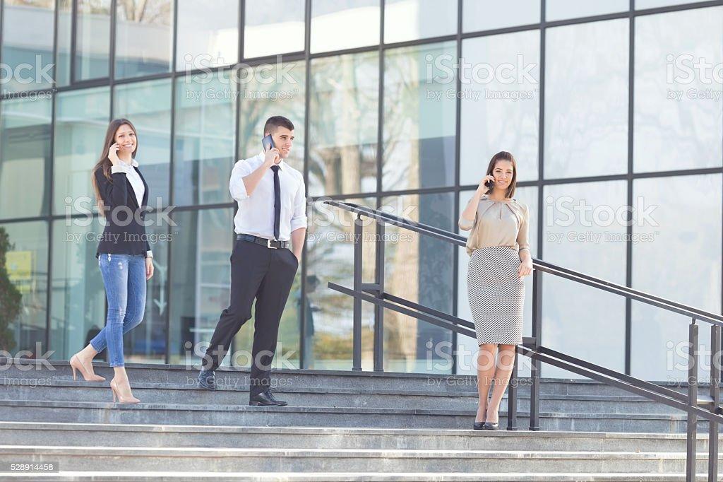 Negócios modernos pessoas - foto de acervo