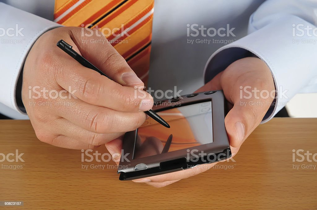 Modern Business Scheduling royalty-free stock photo