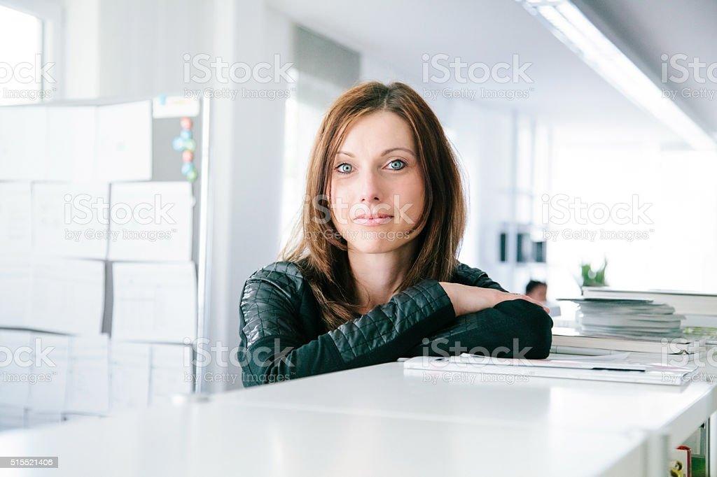 Moderne Business-Frau – Foto