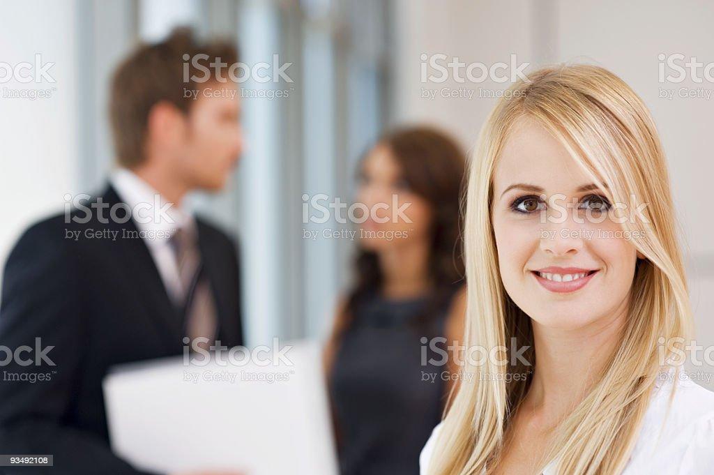 Modern Business Woman royalty-free stock photo