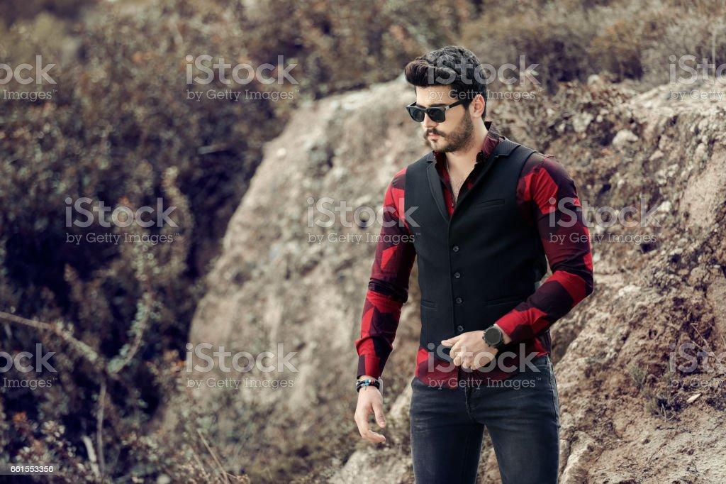 Modern businessman. - foto de stock