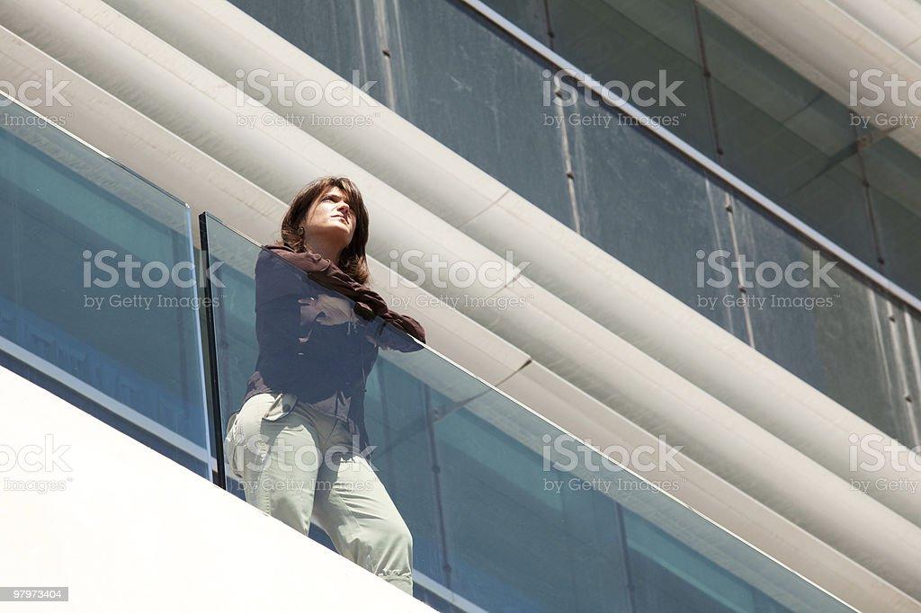 Modern businesswoman royalty-free stock photo