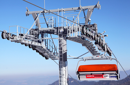istock Modern cableway in Low Tatras, Slovakia 515725845