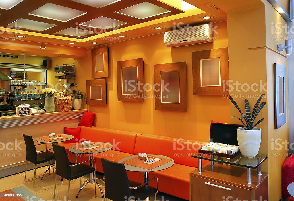 Modern Cafe Bar Interior Stock Photo Download Image Now Istock