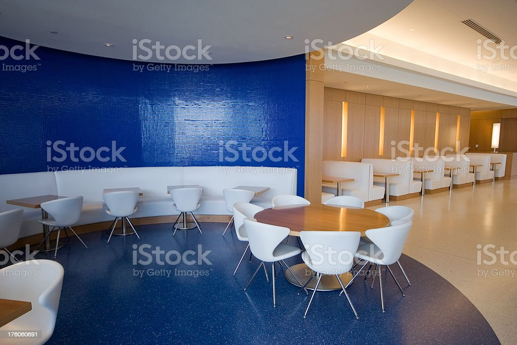 modern cafeteria royalty-free stock photo