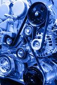 istock Modern Car Engine 488174493