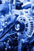 istock Modern Car Engine 488473449