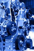 istock Modern Car Engine 488473451