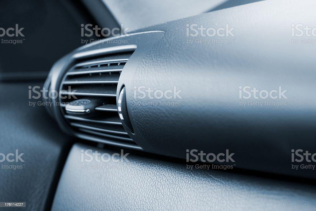 modern car fan royalty-free stock photo