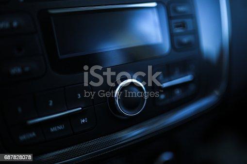 istock Modern Car Interior 687828078