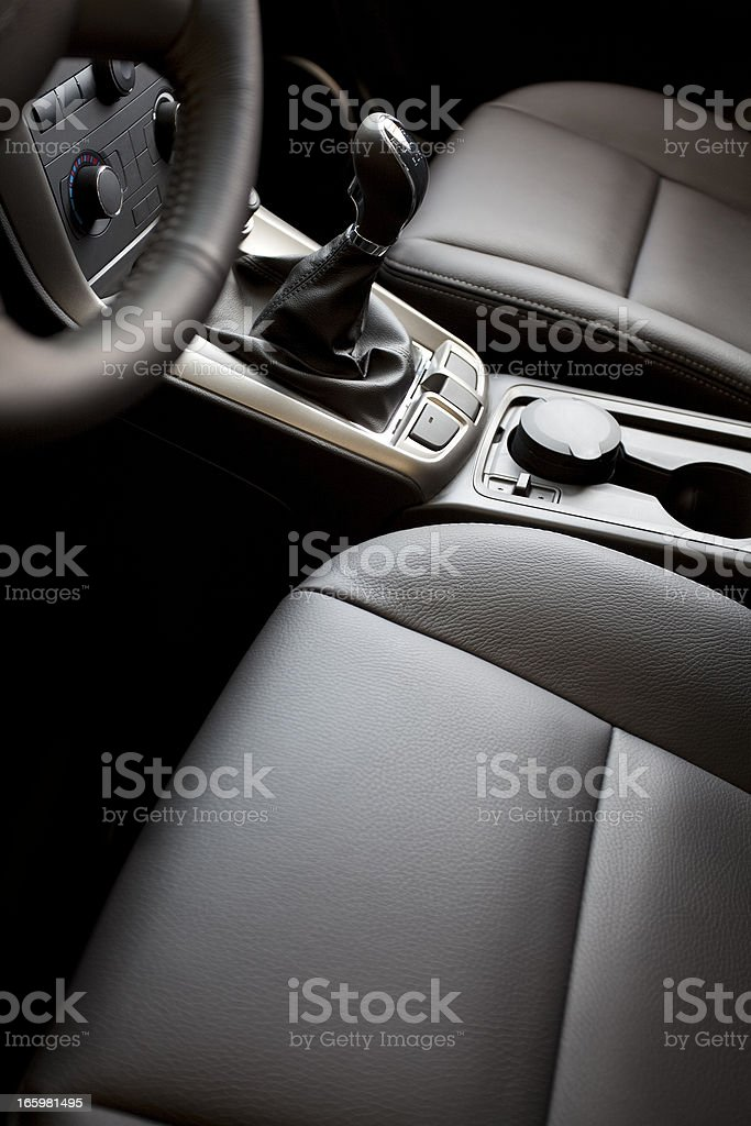 modern car seat stock photo