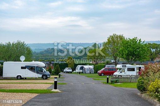 Caravan park with all weather hard standings -  UK