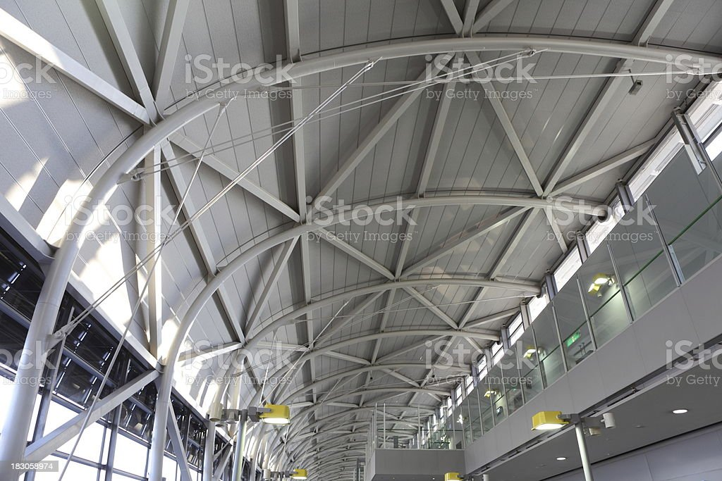 Modern Ceiling Canopy royalty-free stock photo