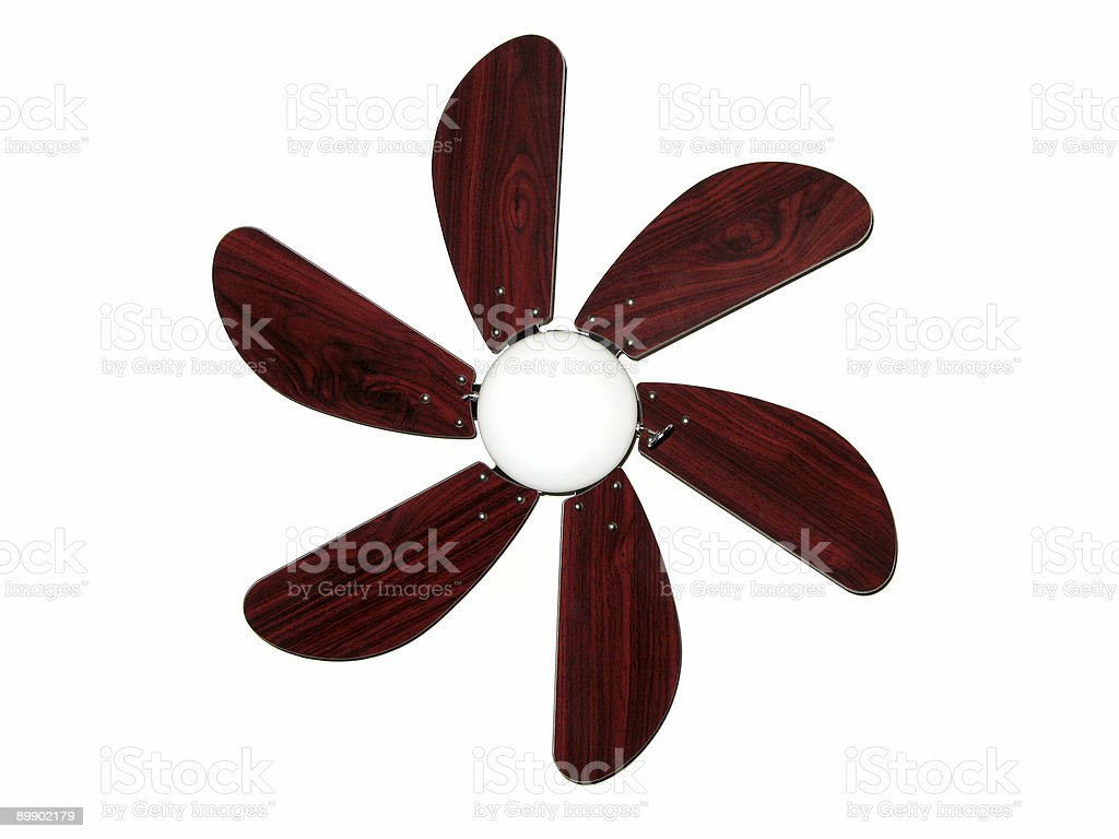 Modern Ceiling Fan royalty-free stock photo