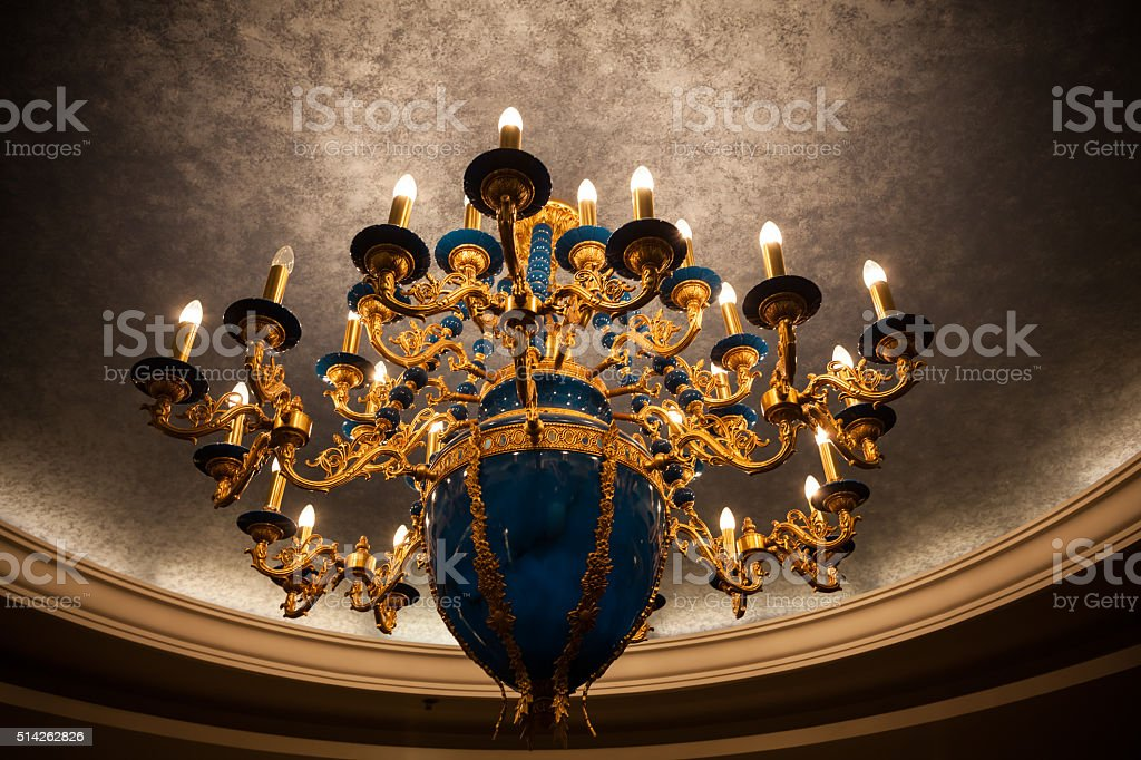 Modern Ceiling lamps stock photo