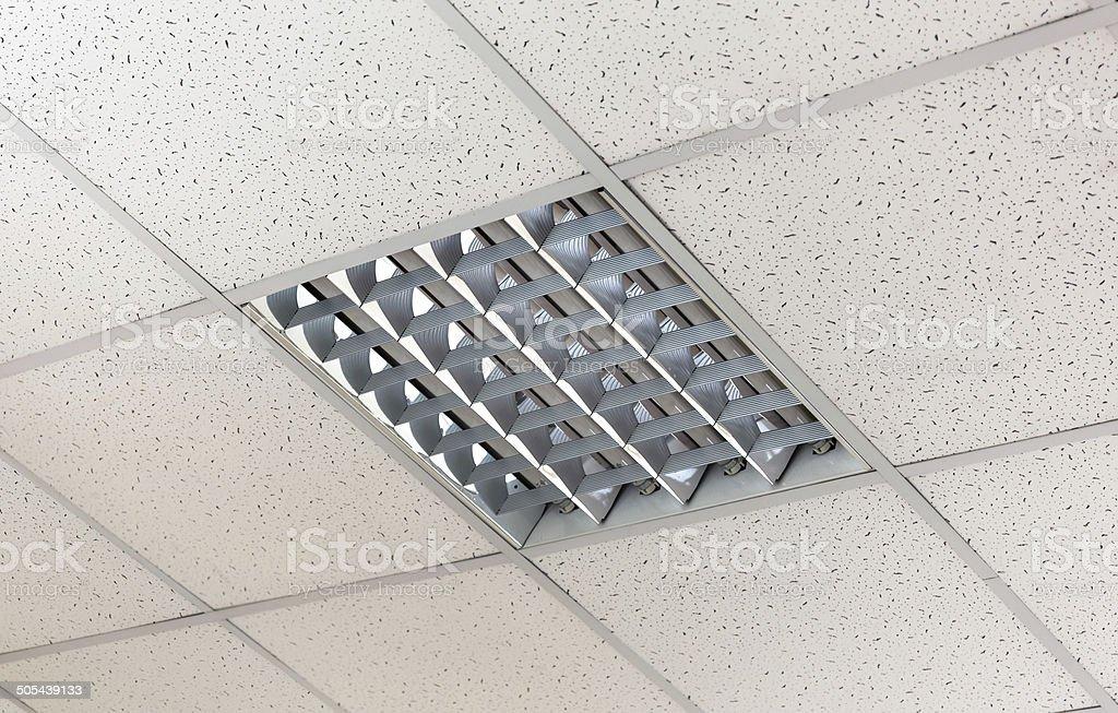 Modern ceiling stock photo