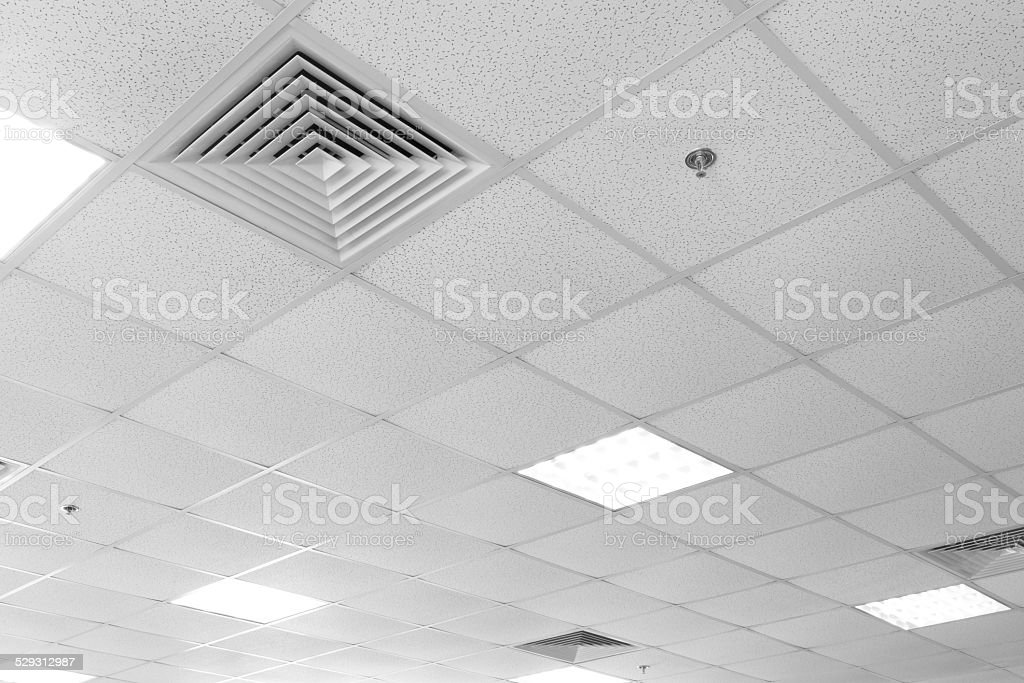 Modern ceiling stock photo
