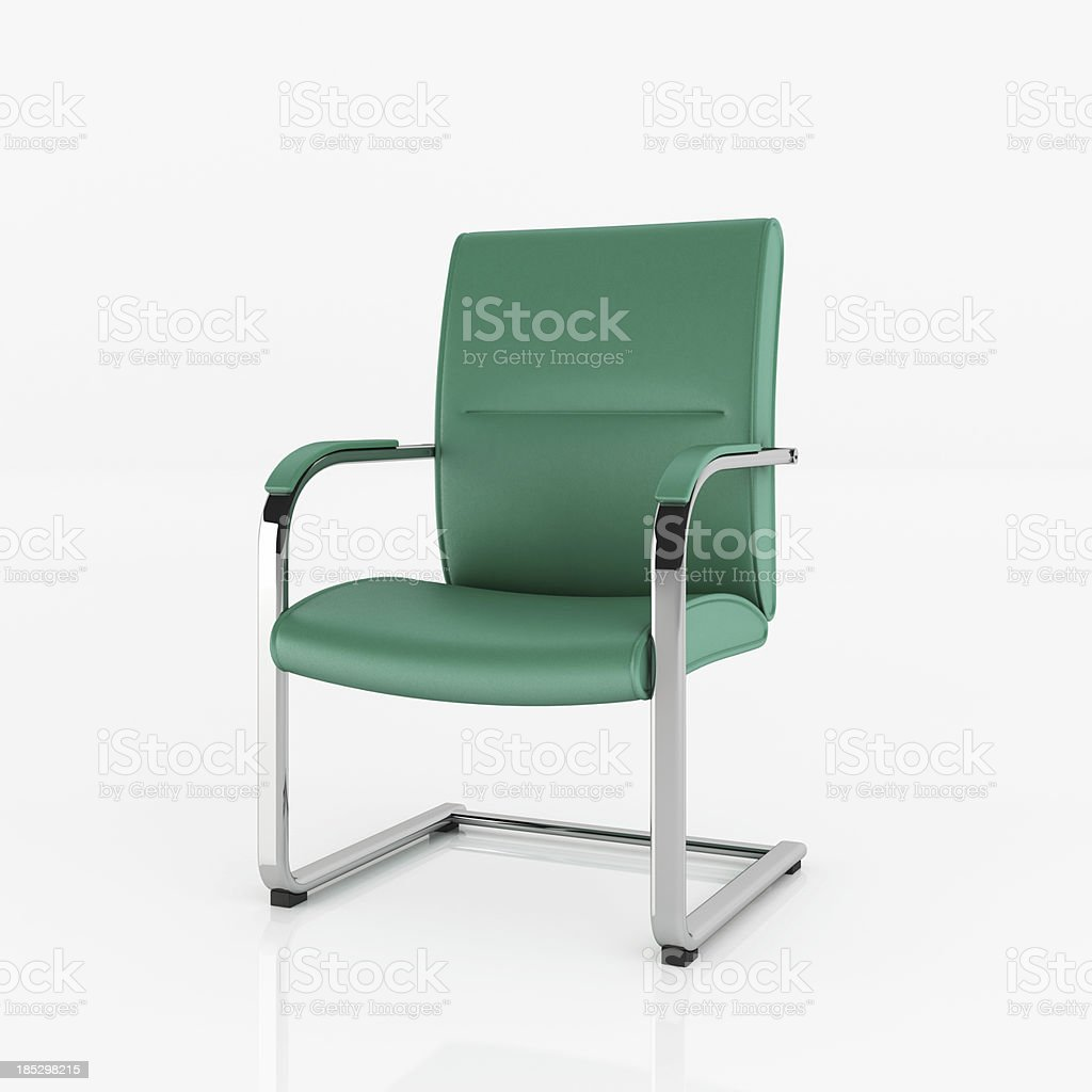 Modern Chair - Clipping path royalty-free stock photo