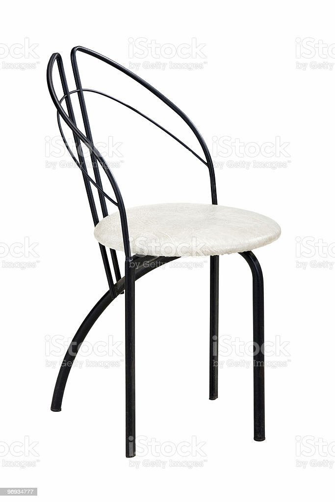 Modern chair royalty-free stock photo